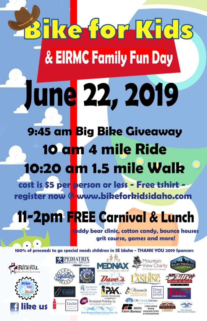 Bike for Kids & EIRMC Family Fun Day | Riverbend Communications